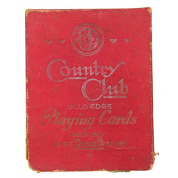 Cards, Playing, US, Country Club