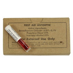 Tube, First Aid Antiseptic, Medical Supply Co.