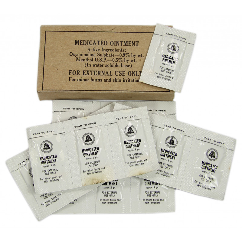 Set, Medicated ointment, Medical Supply Co.