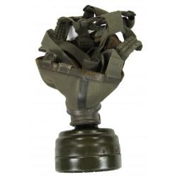 Mask, Gas, German, Luftwaffe, 1938, Named, Normandy
