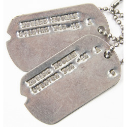 Dog Tags, Edward Kocman, 1942