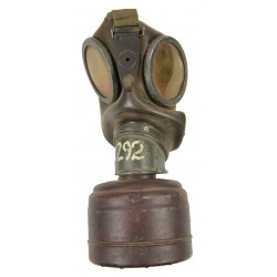 Mask, Gas, German, 1943, Named, Normandy