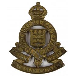 Cap Badge, Royal Canadian Ordnance Corps