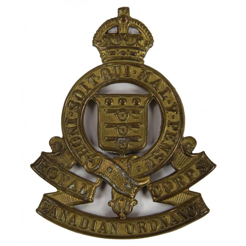 Badge, Cap, Royal Canadian Ordnance Corps
