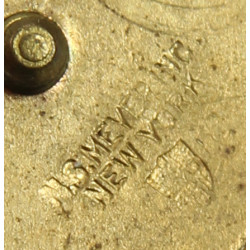 Disk, Collar, Military Police, MP, N.S. Meyer, Inc.