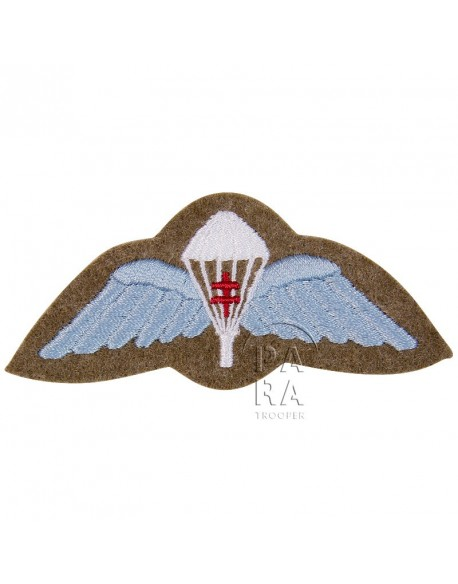 Cloth wings, British, with Croix de Lorraine