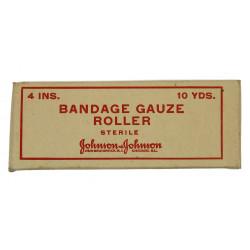 Bandage, Gauze, Roller, Johnson & Johnson