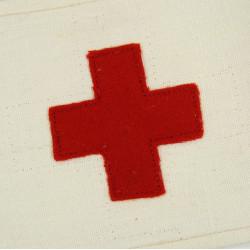 Medic armband, 326th Medical Co., 101st AB, British Made