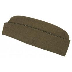 Cap, Officer, OD Wool, Size 7 1/8