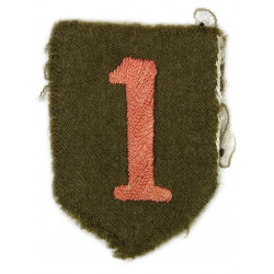 Patch, 1st Infantry Division, WWI
