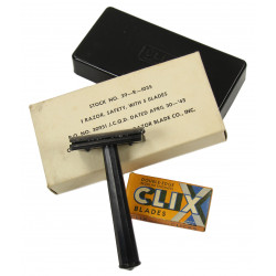 Razor, CLIX, Safety, Conrad Razor Blade Co. Inc., 1943