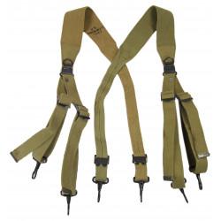 Suspenders, M-1936, HINSON MFG. Co., 1942