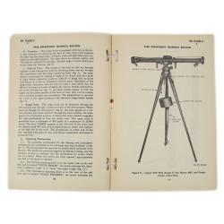 Technical Bulletin TB 9-585-1, Range Finder M7, 1944
