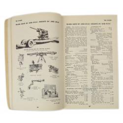 Technical Manual TM 9-2300, Standard Artillery & Fire control materiel, 1944