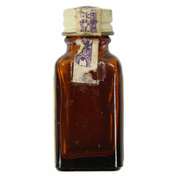Bottle, Morphine Sulfate ½ Grain No. 134, Medical Dept., empty