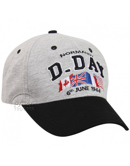 Casquette, D-Day Normandy, grise