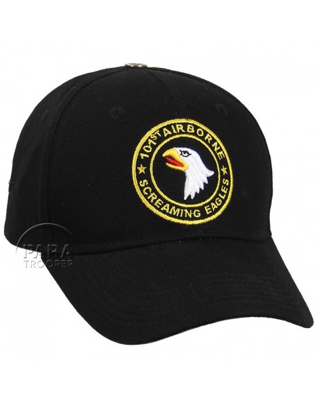 Casquette 101e Airborne - Screaming Eagles, rond