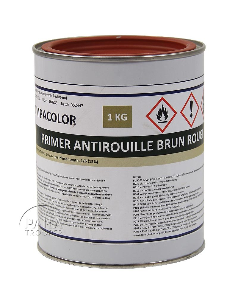 peinture antirouille 1 litre paratrooper. Black Bedroom Furniture Sets. Home Design Ideas