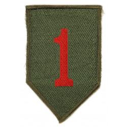Insigne 1ère Infantry Division, British Made 1944