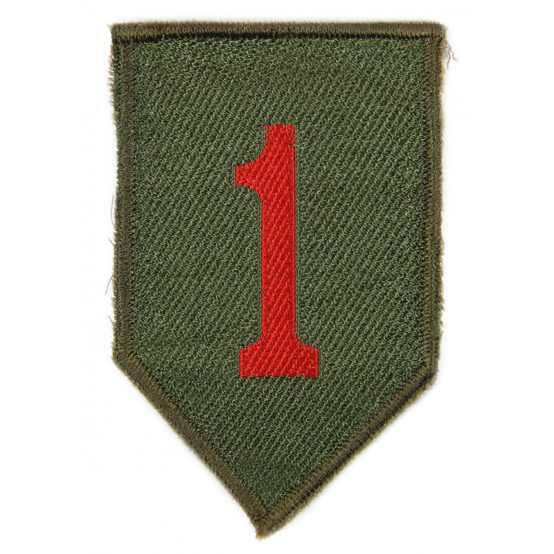 Patch, 1st Infantry Division, British Made 1944