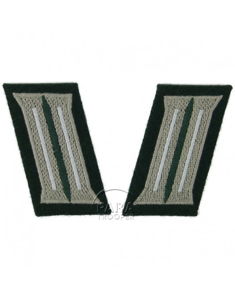 Collar insignia, infantry, M1936