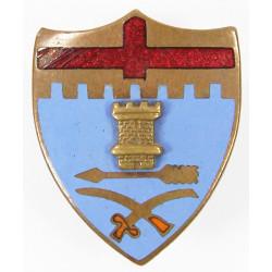 Crest, 11th Inf. Rgt., 5th Infantry Division, à vis