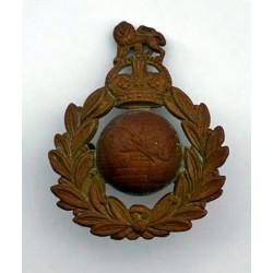 Cap badge, Royal Marines, Normandie