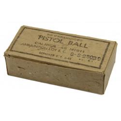 Box, Cartridges, Caliber .45, 1944