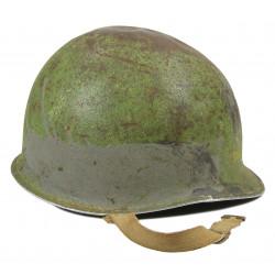 Helmet, M1, US Navy, Camouflaged, Pacific, ID