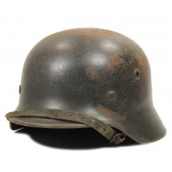 Helmet, M40, Waffen-SS, Named