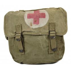 Bag, Field, M-1936, Atlantic Products Corp., 1943, Medic