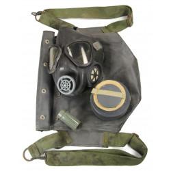Gas mask M5, bag M7, 1944, assault