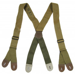 Suspenders, Jump Trousers, M-1942, Light OD