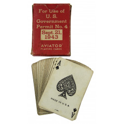 Cards, Playing, American Red Cross, 1943