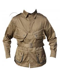 Jacket, Parachutist, M-1942, reinforced, luxe