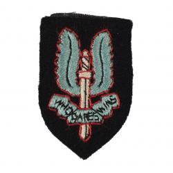 Cap Badge, Cloth, Special Air Service, SAS