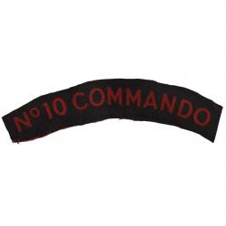Title, No. 10 (Inter-Allied) Commando, Printed