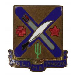 Distinctive Insignia, 2nd Inf. Rgt., 5th ID, screw back