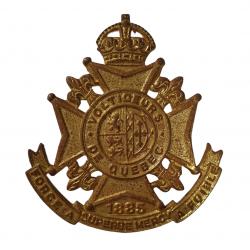 copy of Badge, Cap, Les Fusiliers Mont-Royal
