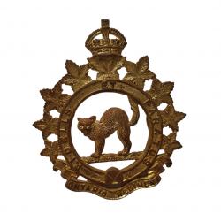 Badge, Cap, The Ontario Regiment