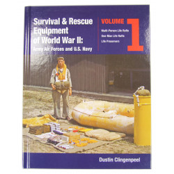Book, Survival & Rescue Equipment of WWII - Army Air Forces and U.S. Navy, Vol.1