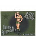 Post Card, Pin-Up Us Army