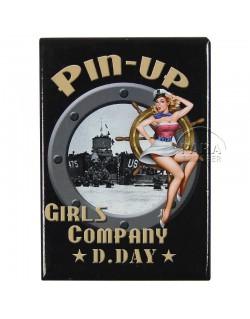 Magnet, Pin-Up, US Navy
