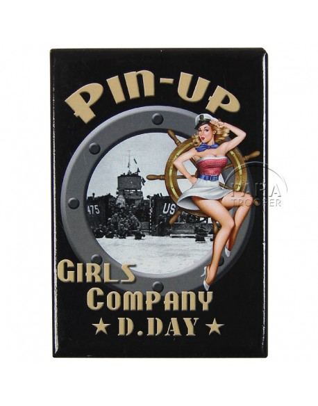 Magnet Pin-Up US Navy