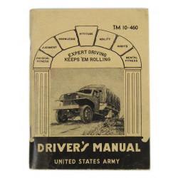 copy of Technical Manual TM 10-460, Driver's Manual, 1942