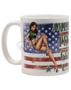 Mug, Pin-Up, Air Force