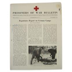copy of Bulletin, American Prisoners of war, May 1945