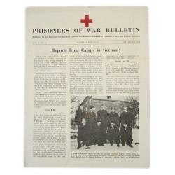 copy of Bulletin, American Prisoners of war, November 1944