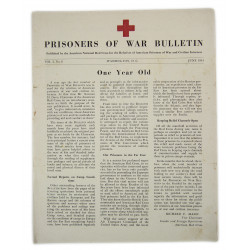 Bulletin, American Prisoners of war, June 1944