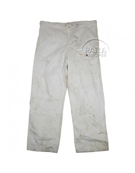 Pantalon camouflé blanc, 1942